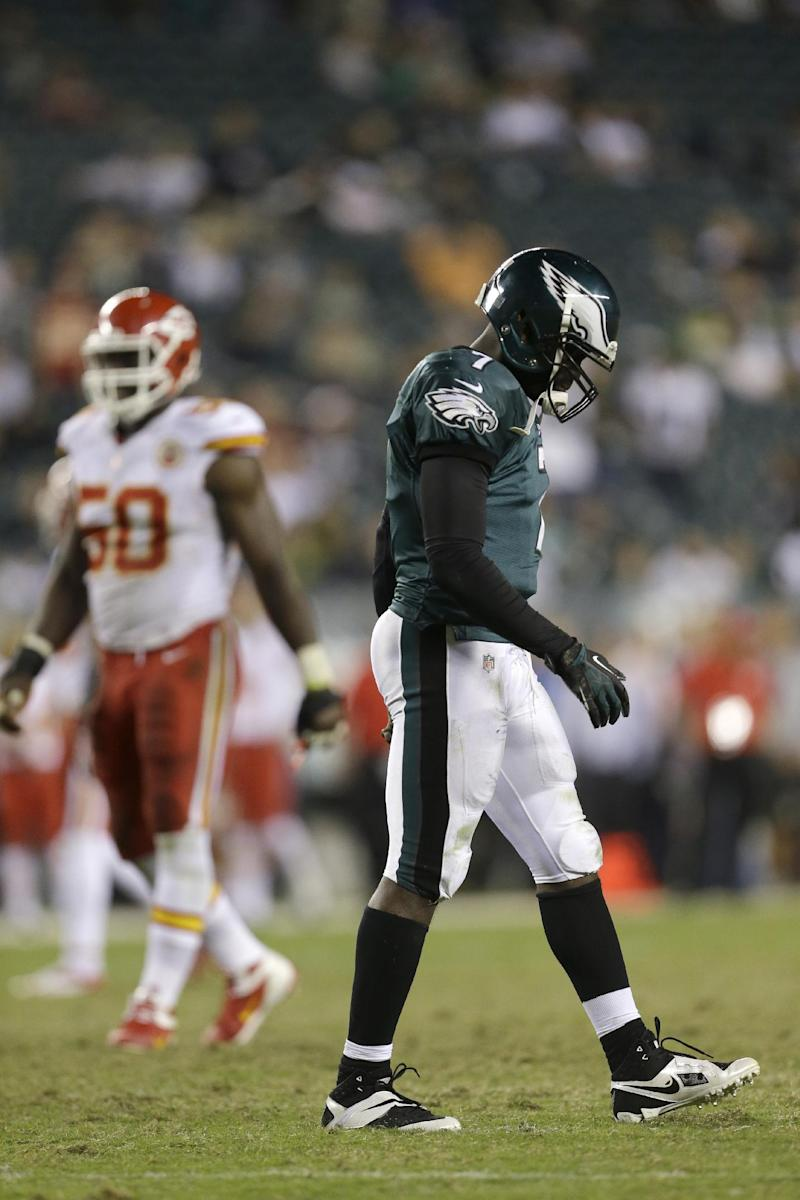Faster doesn't mean more for Eagles