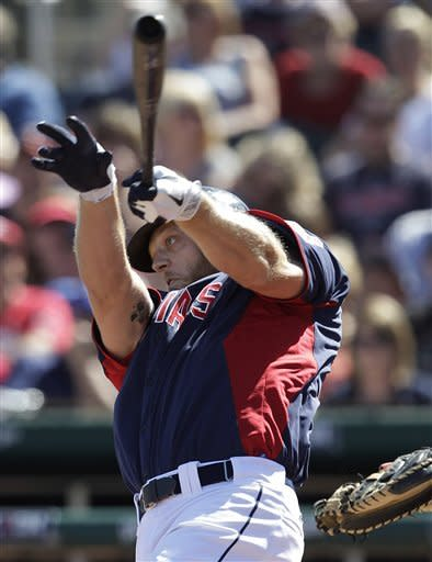 Duncan's HR helps Indians top Royals split squad