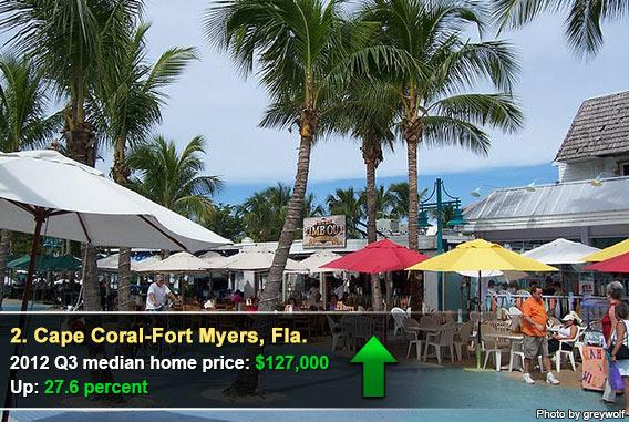 2. Cape Coral-Fort Myers, Fla.