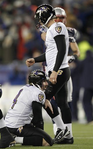 Brady gets helps from defense, Cundiff