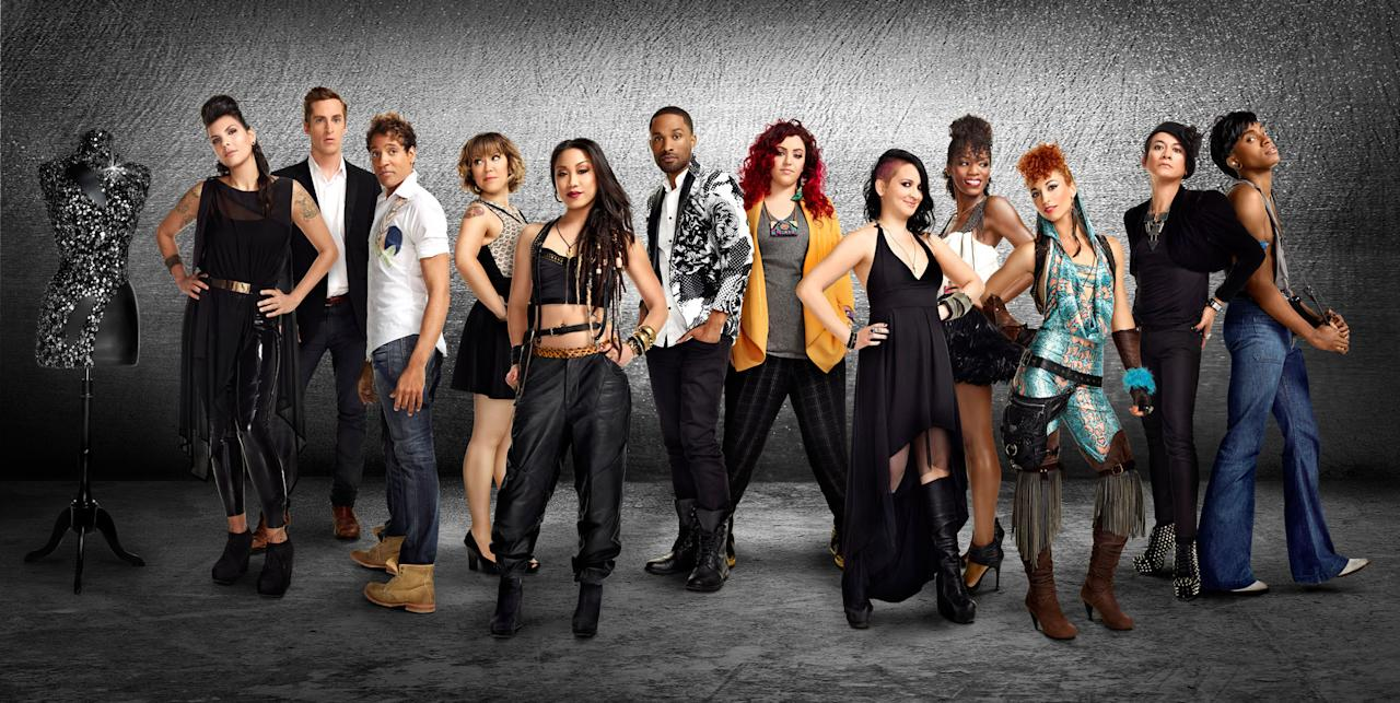 """The cast of """"Styled to Rock"""" Season 1."""