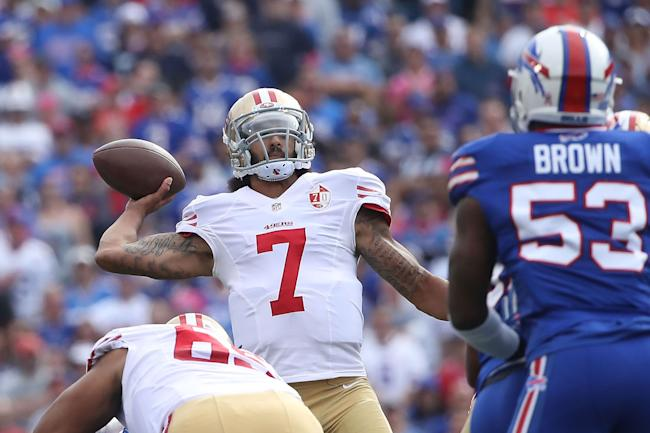 Bills more concerned with Kaepernick as QB than activist