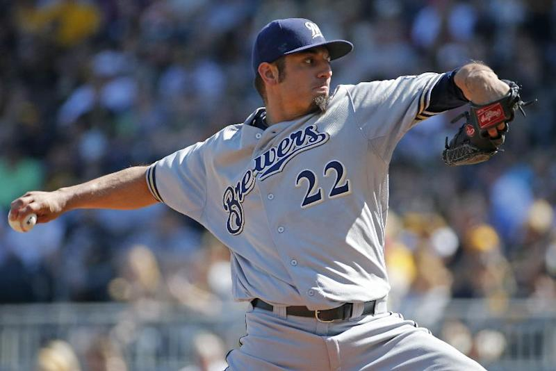 Garza, Overbay lead Brewers past Pirates, 9-3