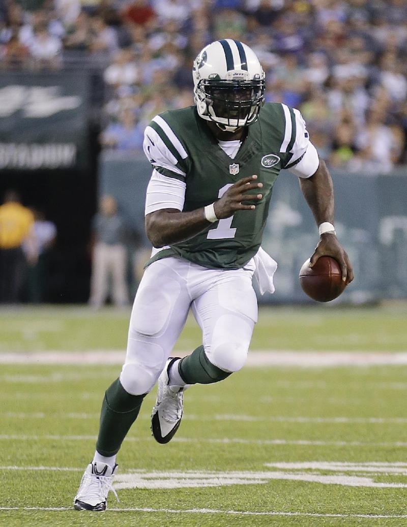 Ever-elusive Vick an option as Jets' wildcat QB