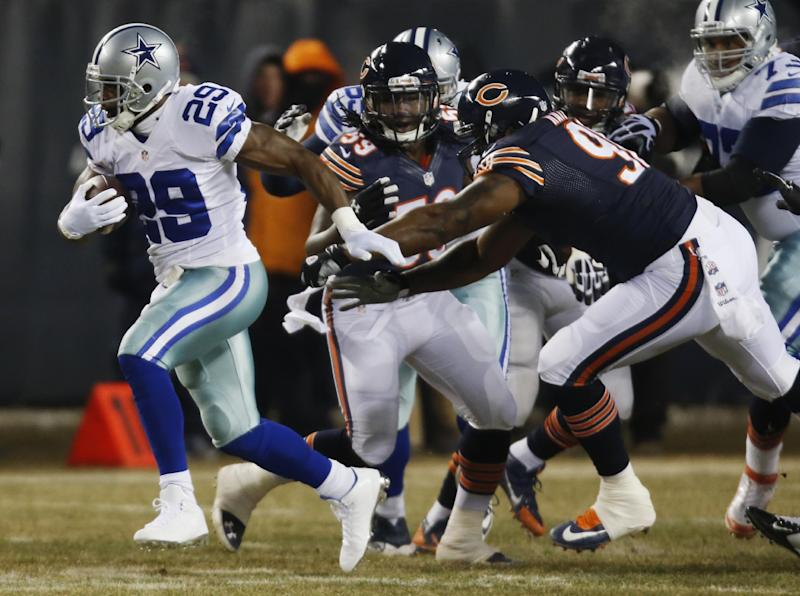 Bears beat Cowboys 45-28 on Ditka Day