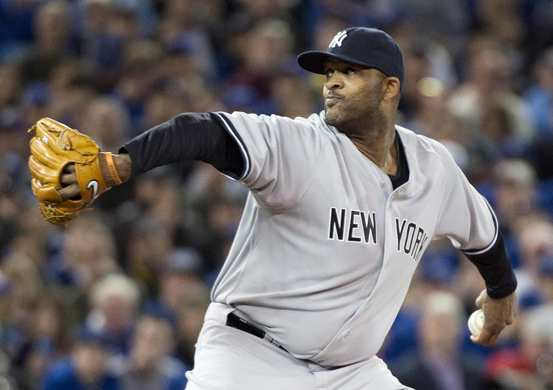 Sabathia gets 1st win; Yanks beat Blue Jays 6-4