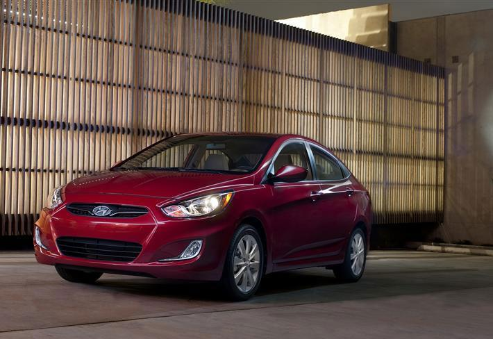 """<b><a href=""""http://autos.yahoo.com/hyundai/accent/"""" target=""""_blank"""">Hyundai Accent</a></b><br />MSRP: $14,545<br />MPG: 28 City / 37 Hwy<br /><br />Hyundai perenially has the highest customer loylty rating, and the reliability of the automaker adds extra value to your already economical purchase: you're paying bottom-dollar for a investment that will last you many years. With 138 hp and 123 lb-ft, the performance is adequate coupled with the nice feel of the interior compared to other vehicles in this segment."""