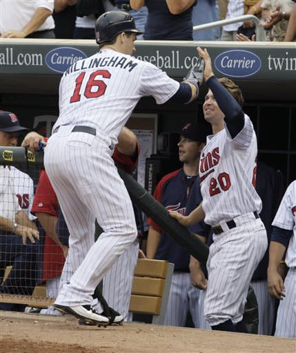 Willingham hits 27th homer as Twins rout Indians