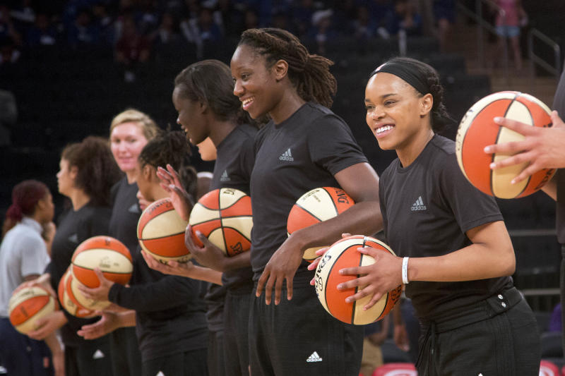 WNBA fines 3 teams for wearing black shirts in wake of shootings