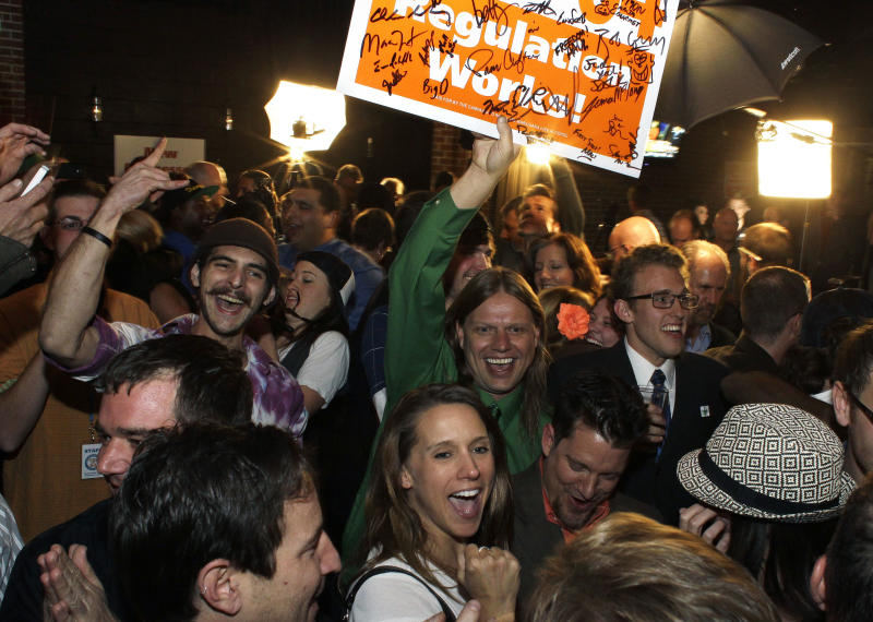 Colo OKs recreational pot; feds could spoil party