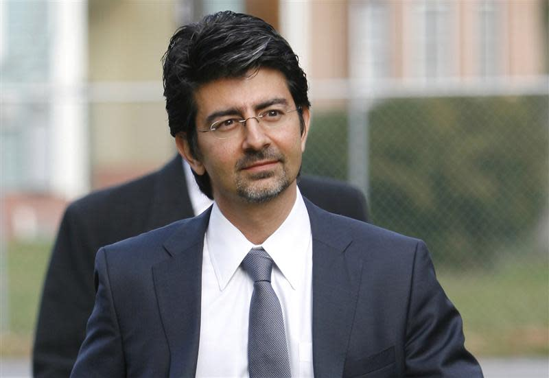 EBay founder and chairman Pierre Omidyar