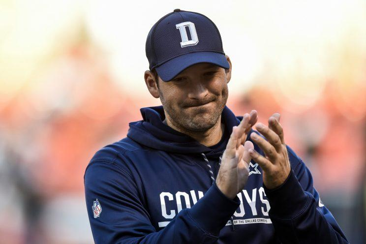 Tony Romo reportedly expects to be released, not traded