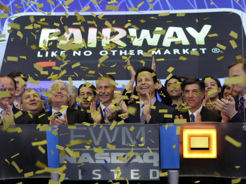 Fairway's stock has strong trading debut