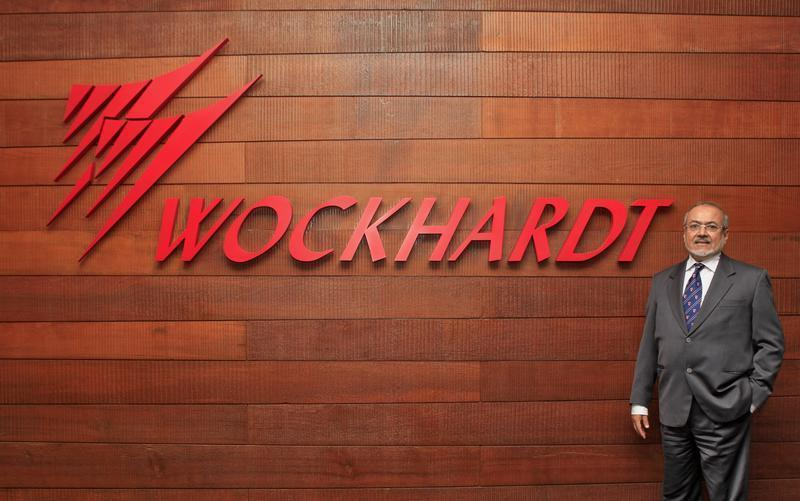 Khorakiwala, chairman of Indian generic drugmaker Wockhardt, poses for a picture at the company's head office in Mumbai