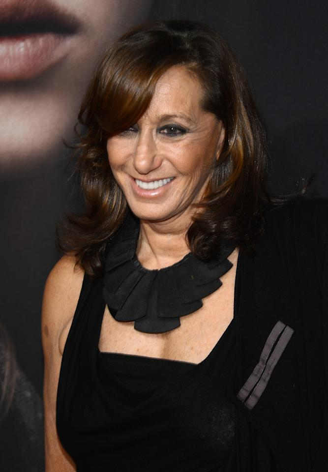 "NEW YORK, NY - DECEMBER 10:  Donna Karan attends the ""Les Miserables"" New York premiere at Ziegfeld Theater on December 10, 2012 in New York City.  (Photo by Larry Busacca/Getty Images)"