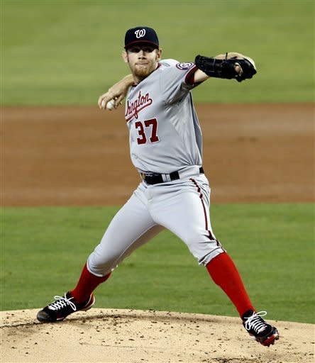 Strasburg leads Nationals to 4-0 win