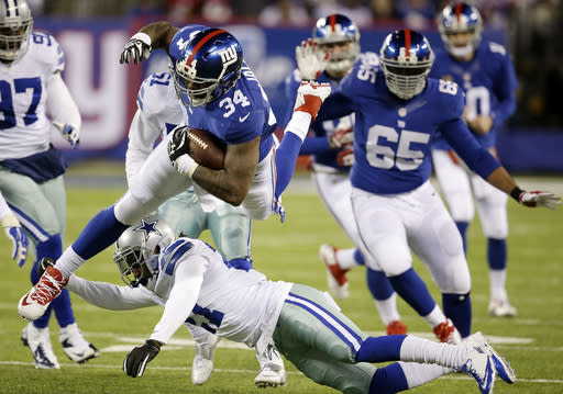 Giants O-Line on move, Boothe to C, Brewer LG