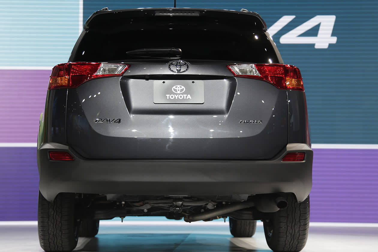 <b>Toyota RAV4</b><br><br>The RAV4 comes with a six-speed automatic, and is rated at an estimated 24/31 city/highway mpg. An all-wheel drive version will also be available.
