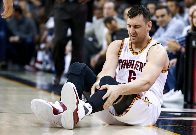New Cleveland Cavaliers recruit Andrew Bogut, ruled out of National Basketball Association season