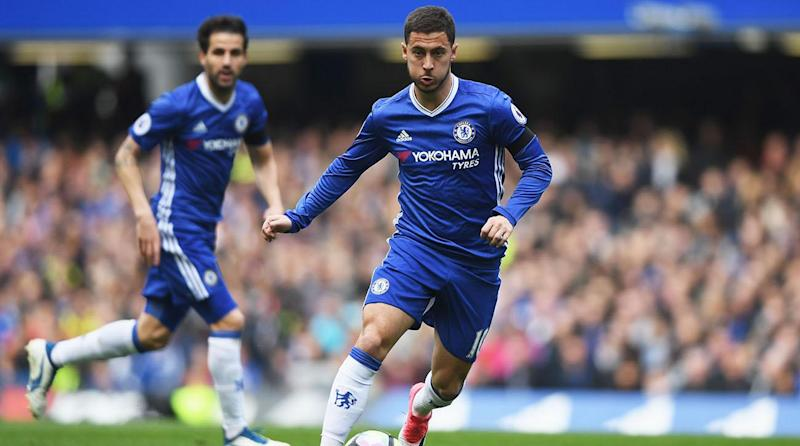 Eden Hazard double puts Chelsea back on course at the top