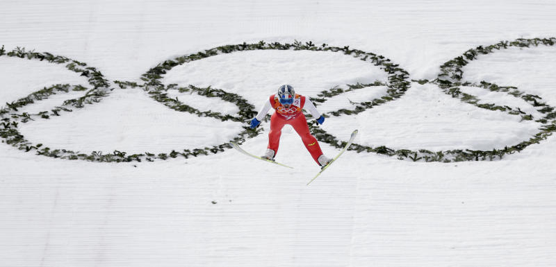 Norway wins gold medal in Nordic combined team