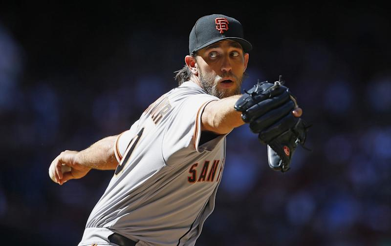 Giants' Madison Bumgarner to talk about his dirt bike accident, injuries