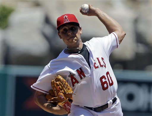 Angels' Vargas goes 7 scoreless against Chisox