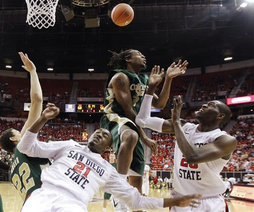 Franklin leads No. 18 SDSU over CSU, 79-69