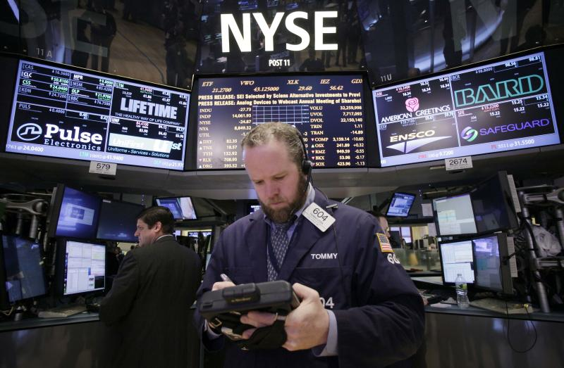 Stocks grind higher, pushing Dow toward record