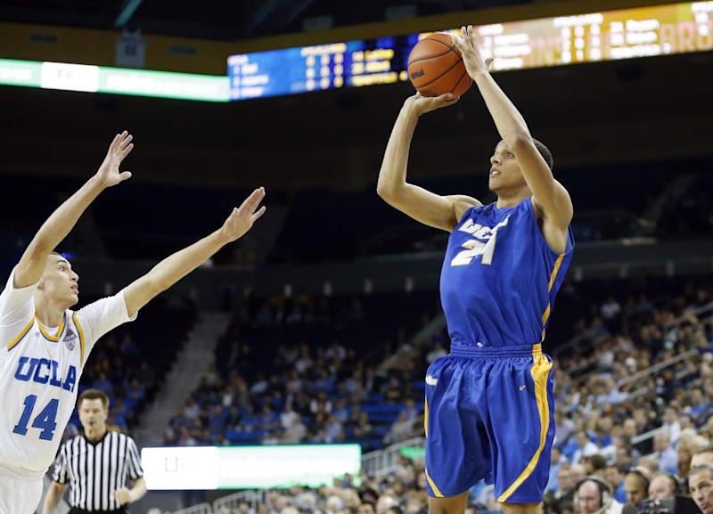 No. 18 UCLA beats UC Santa Barbara 89-76