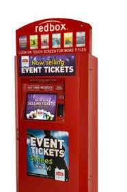 Redbox to Sell Event Tickets at Los Angeles-Area Kiosks