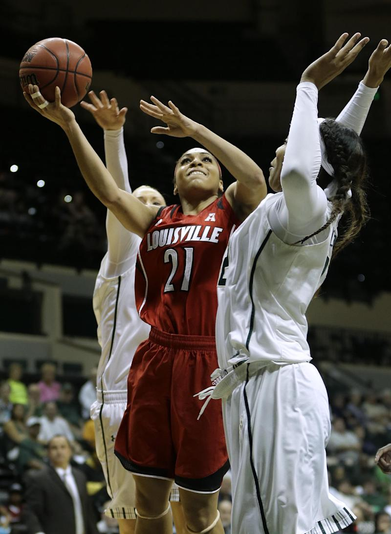 No. 5 Louisville holds off South Florida 62-54