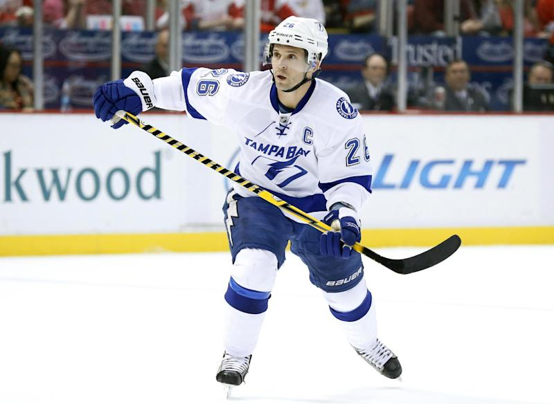 Rangers, Lightning swap captains on deadline day