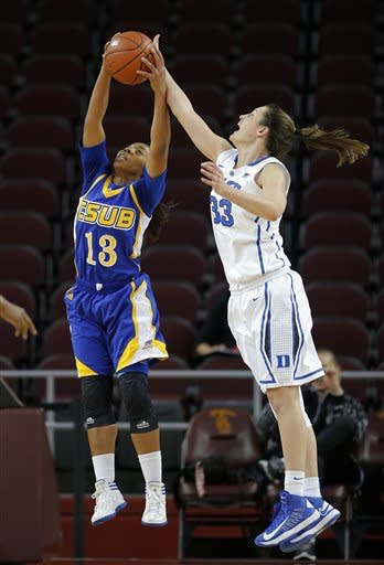 No. 4 Duke women rout Cal State Bakersfield 97-63