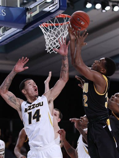 No. 13 Missouri gets past VCU  68-65