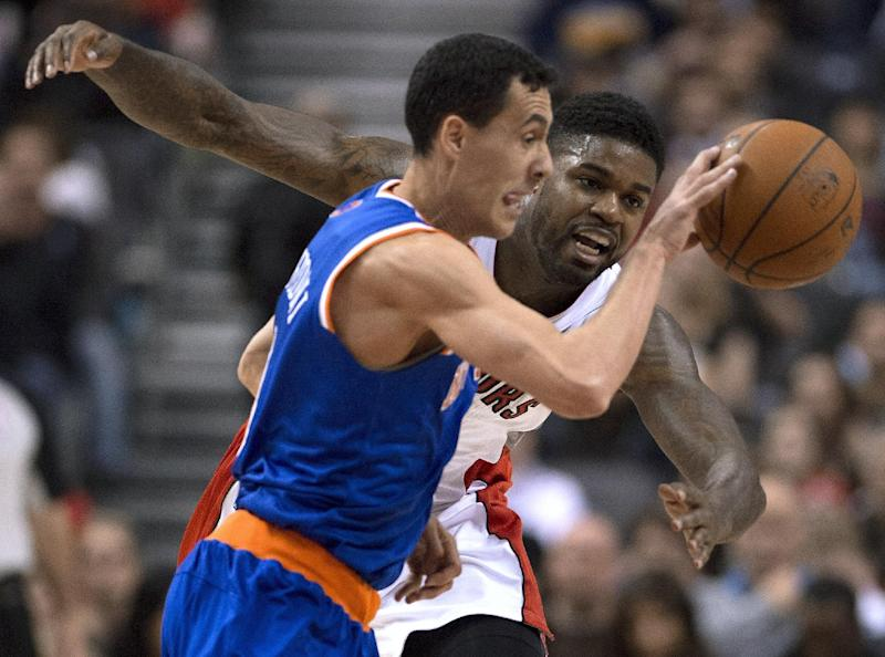 Raptors fall to Knicks but still clinch division