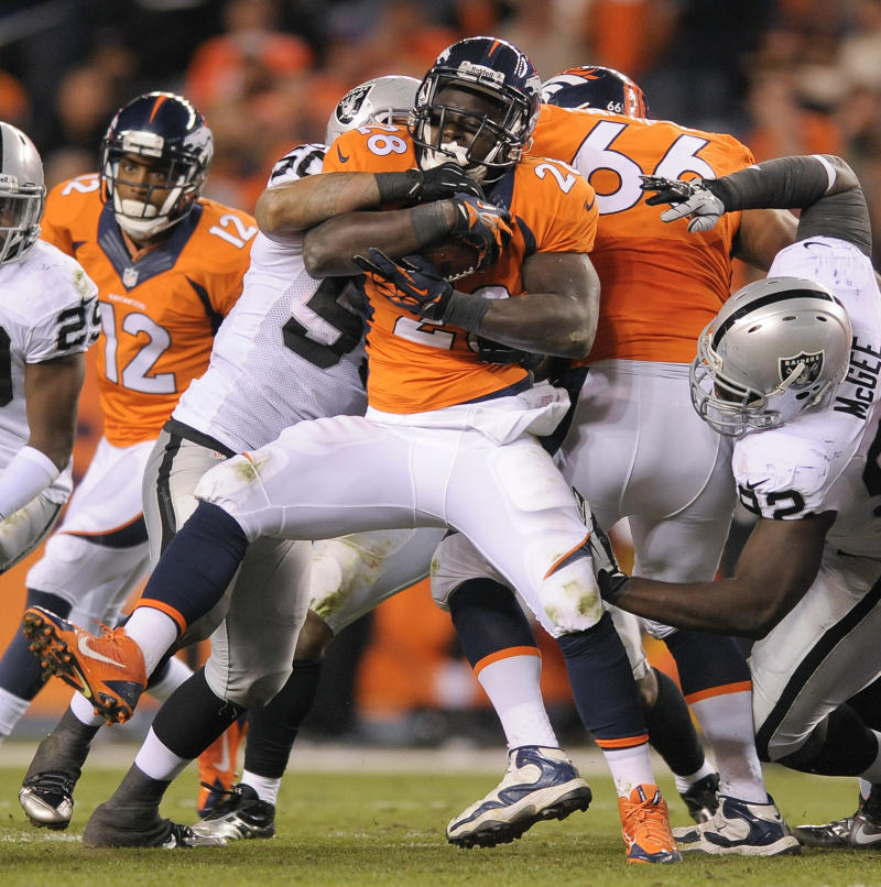 Broncos find a few flaws among the touchdowns