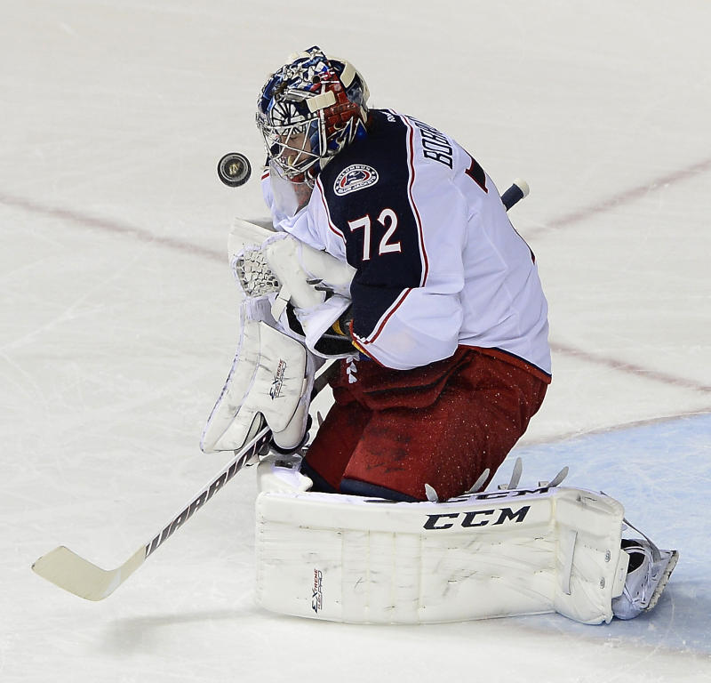 Anisimov, Bobrovsky lead Blue Jackets past Preds