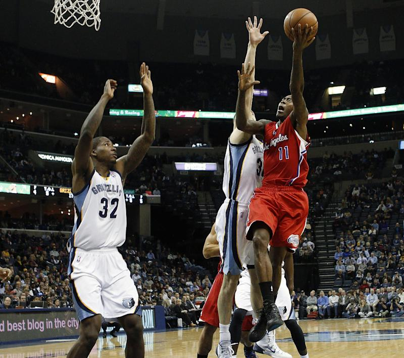 Collison, Crawford lead Clippers past Grizzlies