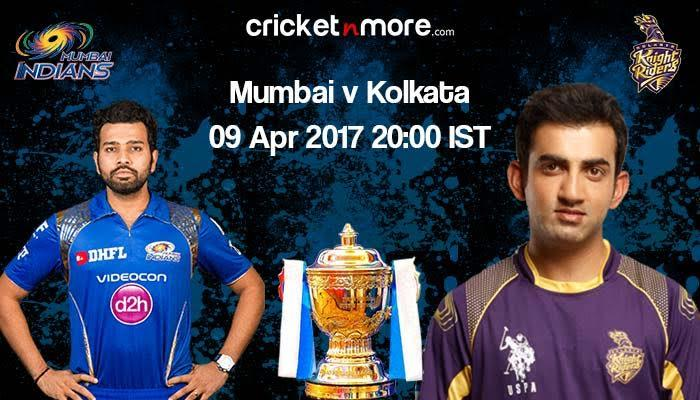 IPL 10 In-form KKR challenge Mumbai Indians at home