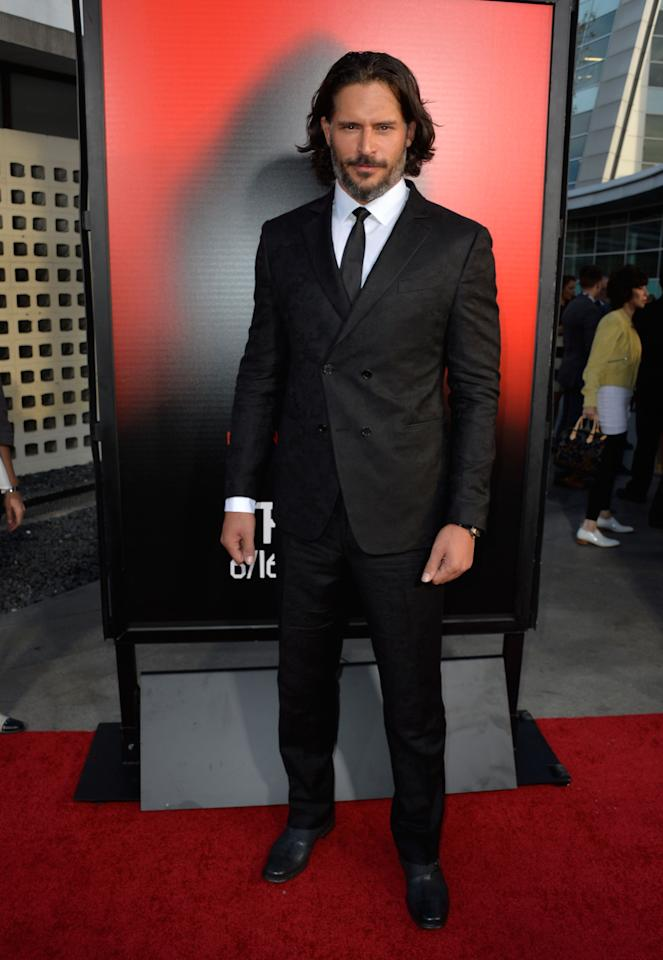 HOLLYWOOD, CA - JUNE 11: Actor Joe Manganiello attends the premiere of HBO's 'True Blood' Season 6 at ArcLight Cinemas Cinerama Dome on June 11, 2013 in Hollywood, California. (Photo by Frazer Harrison/Getty Images)