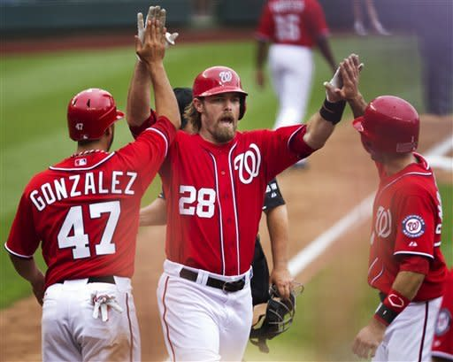 Gonzalez lifts Nationals to 7-1 win over Phillies