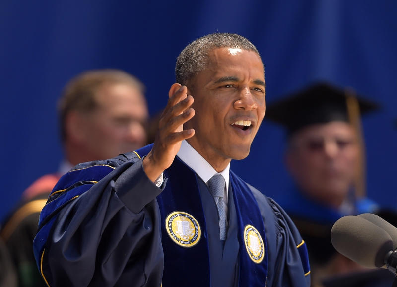 Obama says climate change deniers ignoring science
