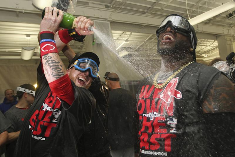 Playoff chase: Red Sox clinch AL East