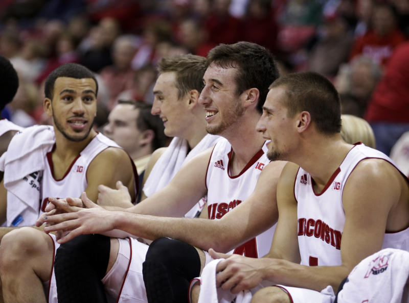 Big man Kaminsky makes history at No. 12 Wisconsin