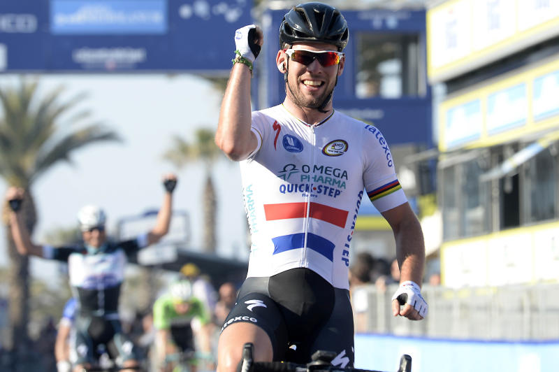 Cavendish wins Tirreno stage; Contador keeps lead