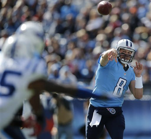 Luck's TD pass in OT leads Indy over Titans 19-13