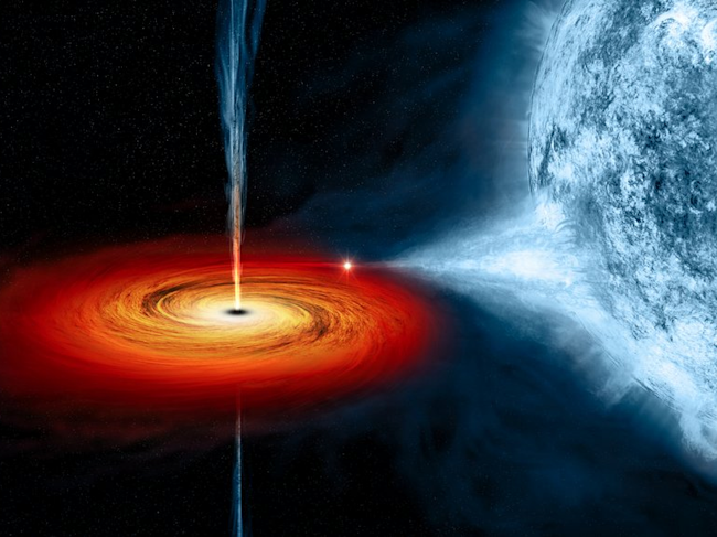 Stephen Hawking's prediction about black holes observed in lab