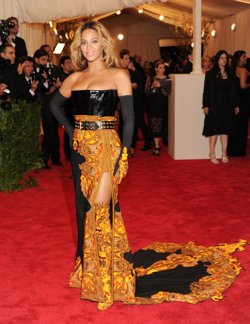 Stars put punk edge in their Met Gala outfits