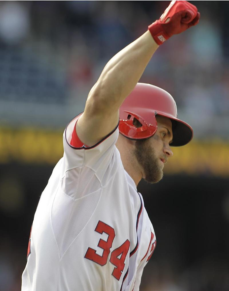 Bryce Harper's HR in 13th leads Nats past Mets 5-3